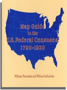 Map Guide to the U.S. Federal Censuses, 1790-1920 | William ...